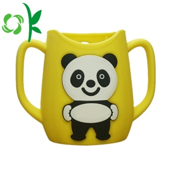 Silicone Milk Bottle Baby Cartoon Sleeve for Baby