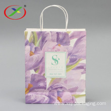 Custom Kraft Paper Bag with logo printed