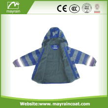 Classic Thicken Style Waterproof Coverall Rainsuit For Kids