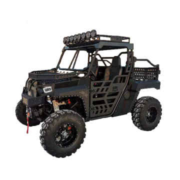 black military 4x4 utv 1000cc utv with bed