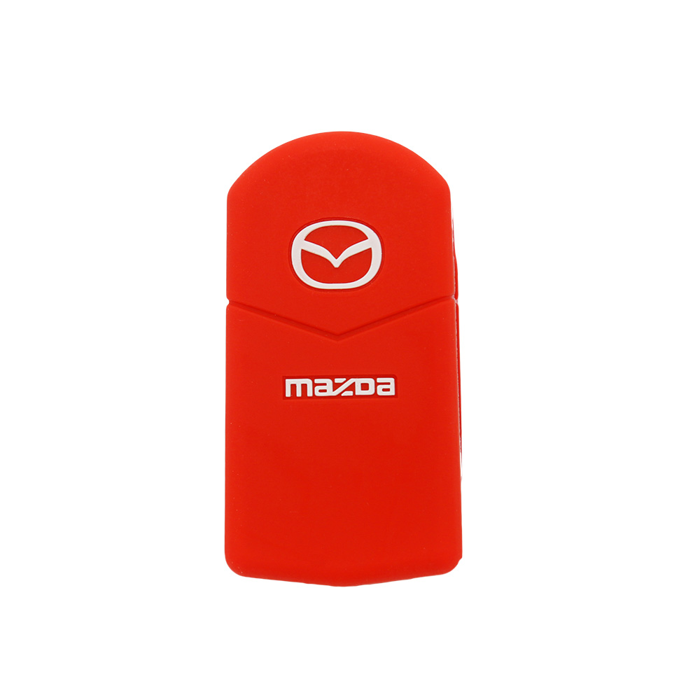 Luxury Embossed Key Holder For Mazda