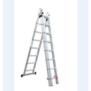 3*8 steps aluminum extension ladder
