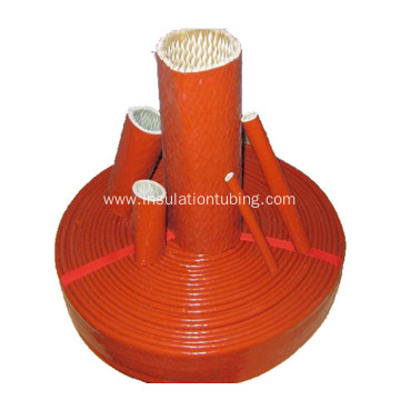 Silicone Rubber Coated Braided Fiberglass Sleeve