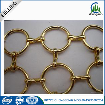 Beatiful Design Stainless Circular Rings Mesh