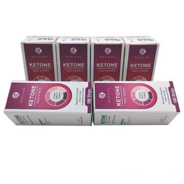 Ketone strips perfect for ketogenic Diet and Diabetics