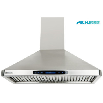 Wall Mount Range Hood Stainless Steel Exhaust HoodFilters