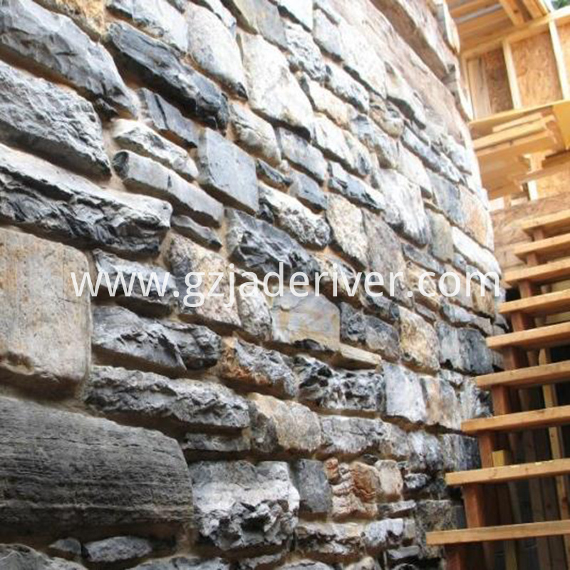 Indoor and outdoor artificial stacked stone