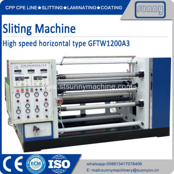 High Quality for China Plastic Film Slitting Machine, Automatic Film Roll Slitting Machine, Plastic Film Slittng Machine Supplier Jumbo slitting Rewinder for all kinds of film export to Indonesia Manufacturer