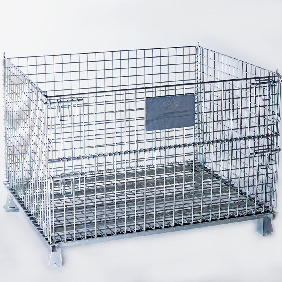 Stackable Steel Wire Mesh Pallet Cage China Manufacturer