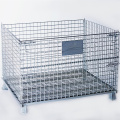 Stackable Steel Wire Mesh Pallet Cage