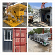 Portable Concrete Mixer Trailer