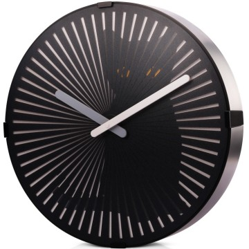 Funny Motion Cat Wall Clock with Moving Tail