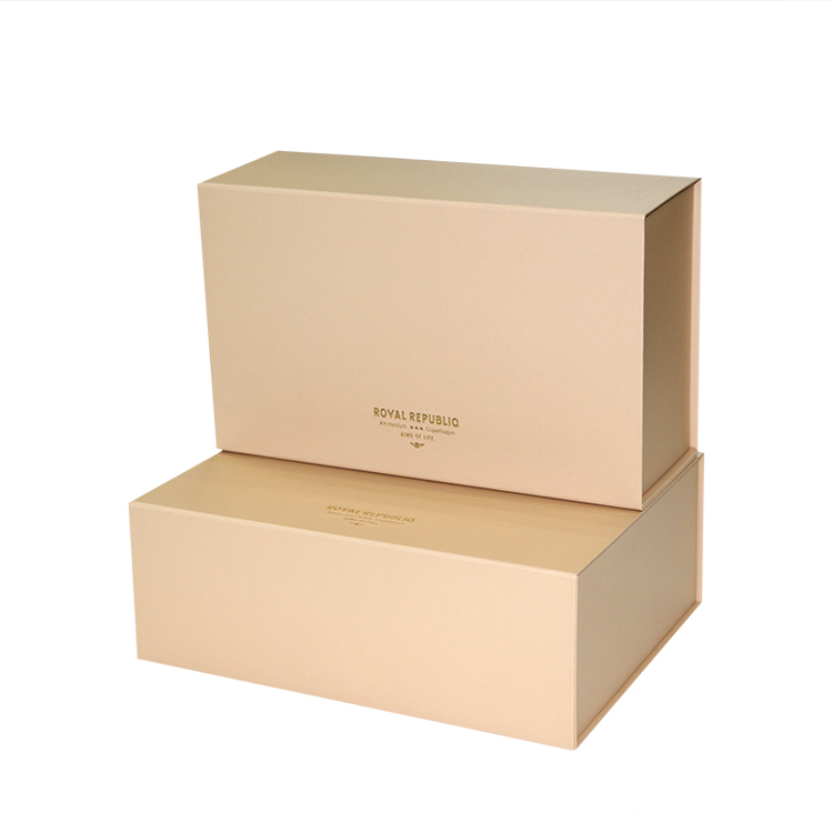 Grey board Packaging Box For Hair Extension