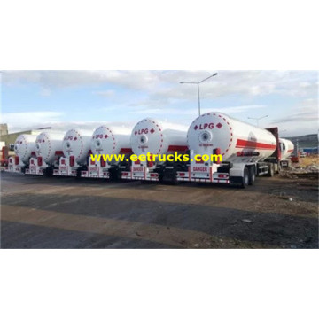 11000 Gallon 16MT Bulk Propane Semi-trailers