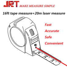 General tools 2 in 1 Laser tape measure