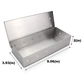 Stainless Steel BBQ Grilling Meat Smokers Box