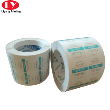 Paper Roll Sticker Printing