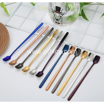 Multicolor Stainless Steel Flatware Set Teaspoon Wholesale