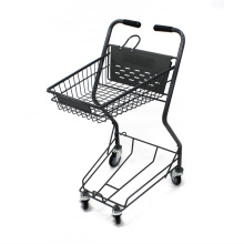 Japanese type shopping basket trolley cart basket