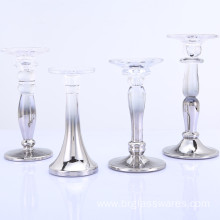 Hot sale for Glass Pillar Holders Metallic Ombre Pillar and Taper Glass Candle Holder export to South Korea Manufacturer