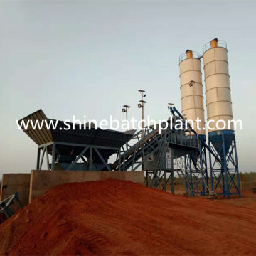 New Mobile Concrete Batching Plant