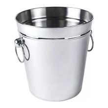 Hot-selling for Household Stainless Steel Bucket New Stainless steel beer ice bucket container supply to Guadeloupe Manufacturer