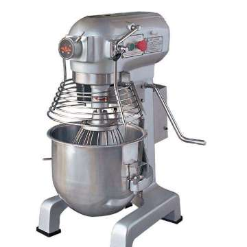 Planetary mixers in baking equipment