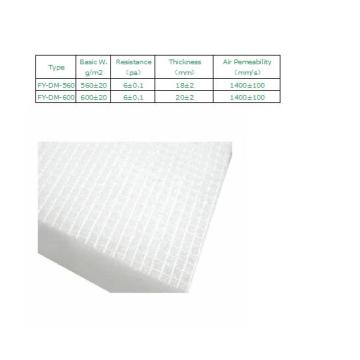 Auto Ceiling Filter Media for Ventilation System