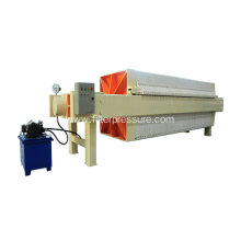 Durable Metallurgy Plate Frame Filter Press PLC Control