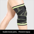Professional sports kneecap with anti-skid pressure