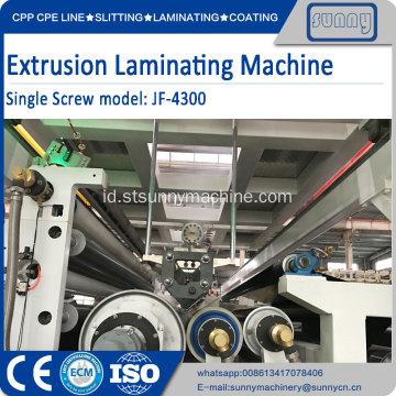 Lini produksi co-ekstrusi laminasi multilayer