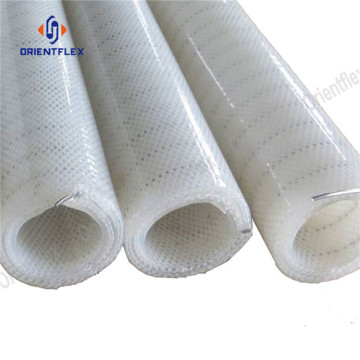 Food class durable silicone stainless steel hose