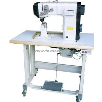 Roller Feed Postbed Sewing Machine with Automatic Thread Trimmer and Backtacking