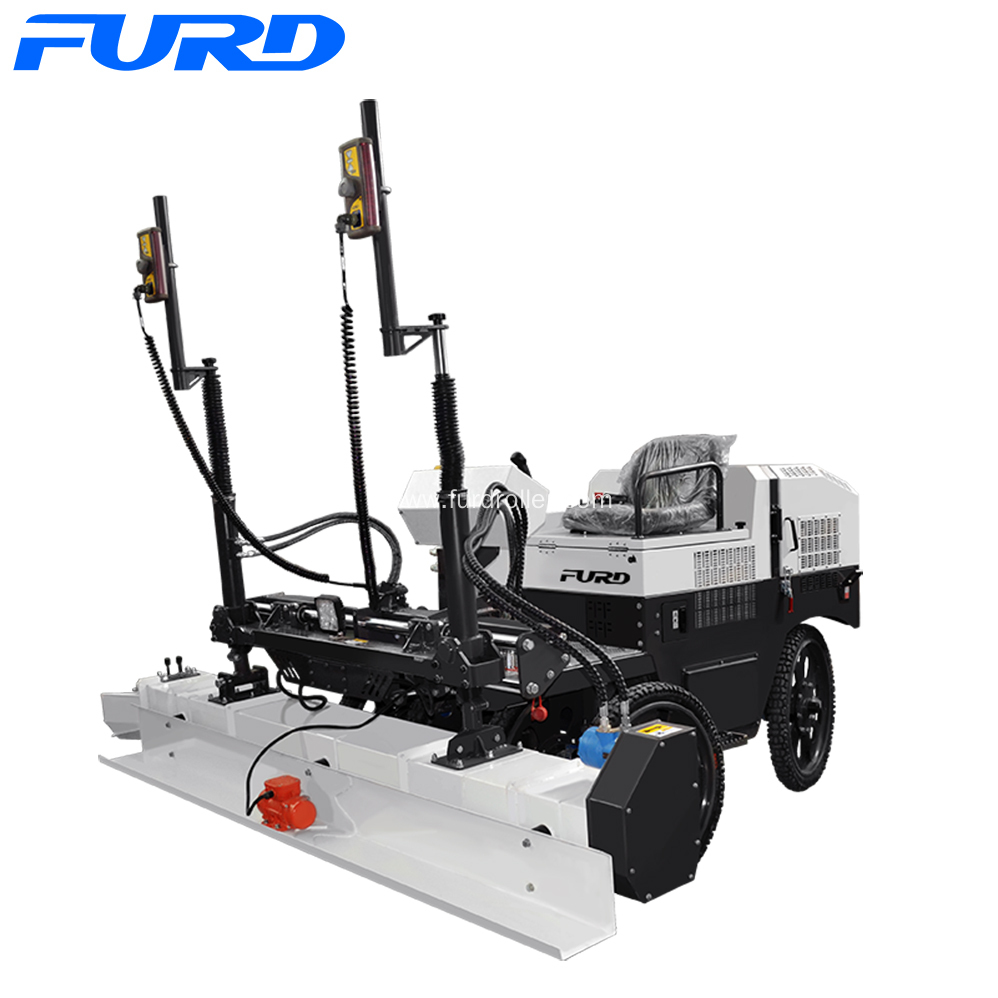 Leica Guided Laser Level Screed Machine China Manufacturer