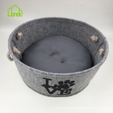 Felt Pet House Dog Nest