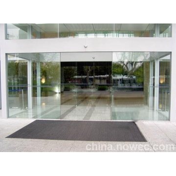 Automatic Glass Double Sliding Opener Door