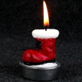 Xmas Stana Claus Candle Decoration Gift Set