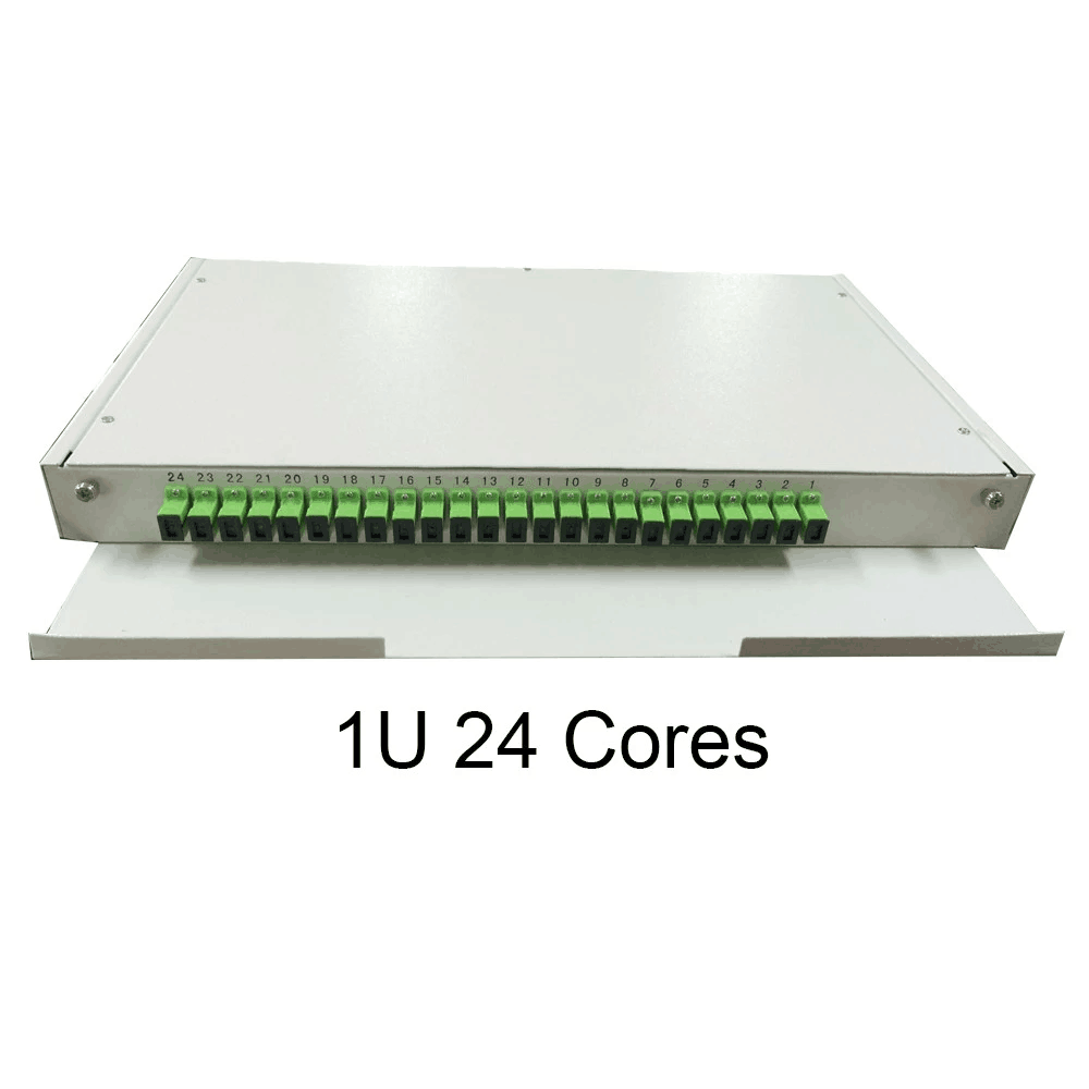 24 Way Singlemode Fiber Optic Panel
