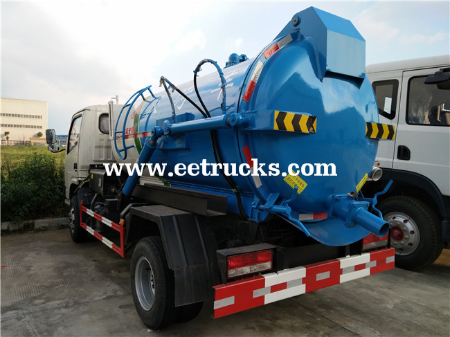 10000 Liters Dung Suction Trucks
