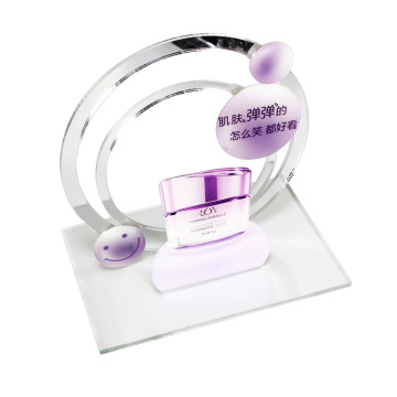 clear acrylic cosmetic display stand for revlon