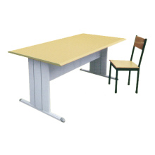 Europe style for for Student Desk White Metal Classroom Table export to Latvia Suppliers