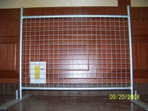 Australia galvanized welded temporary fence