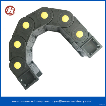plastic type protective bridge cable drag chain PA66