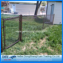 OEM manufacturer custom for Galvanized Chain Link Mesh Fence PVC Coated Chain Link Fence Panels supply to Virgin Islands (British) Suppliers