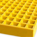 Fiber reinforced plastic pultruded industrial grating