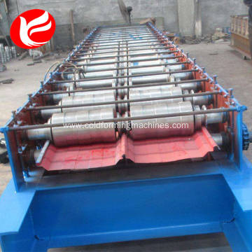 Joint hidden  roofing panel machinery making equipment