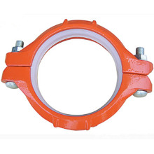 Customized for Ductile Iron Pipe Fittings Ductile Iron Grooved Fittings Rigid Coupling export to Iceland Exporter