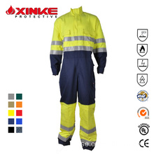 Bomull Polyester Blue Wear Rough Workwear