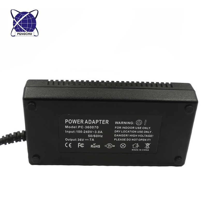 36V 7A power adapter