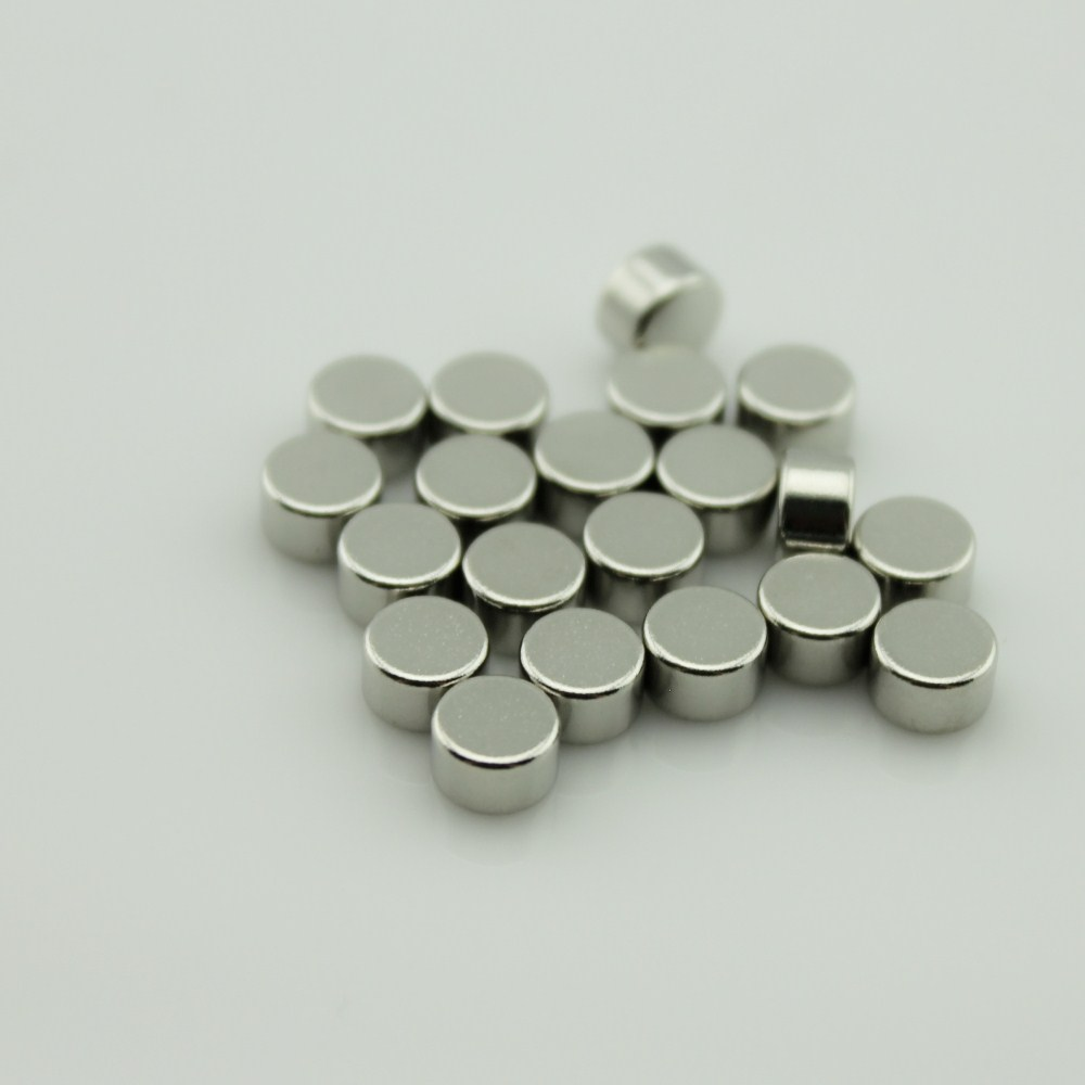 Thin Sintered N35 Round Magnet